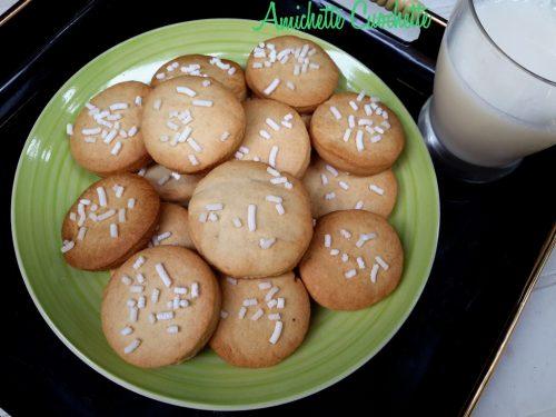 Biscotti frollini semplici