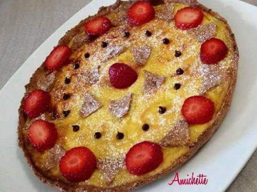 Crostata di fragole Dukan