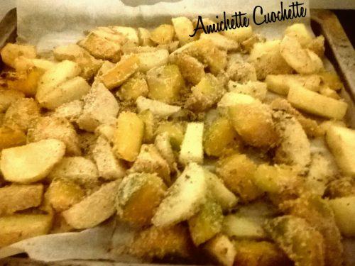 Patate e zucca sabbiose