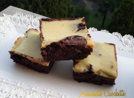 Brownies cheescake