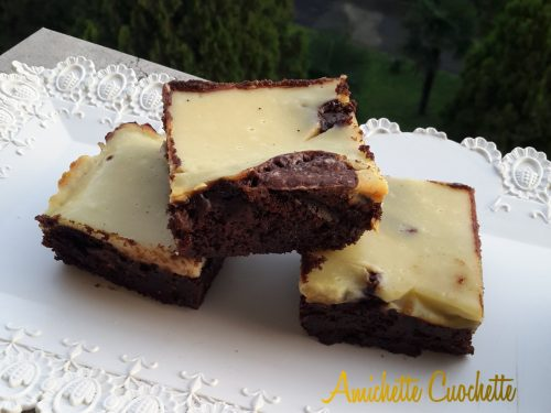 Brownies cheescake