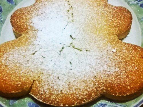Torta senza burro,latte,uova al profumo d'arancio