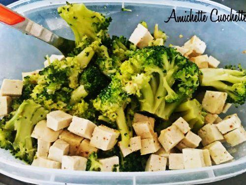 Padellata di broccoli e tofu'