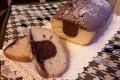 Plumcake bicolore senza  latte e burro