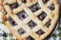 Crostata con frolla alle nocciole e crema bimby al cacao