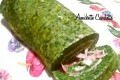 Frittata arrotolata con spinaci Philadelphia e prosciutto cotto