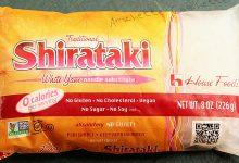Shirataki cosa sono, dove si trovano