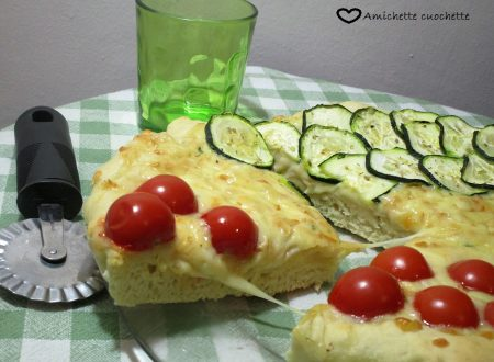 Pizza tricolore allo yogurt