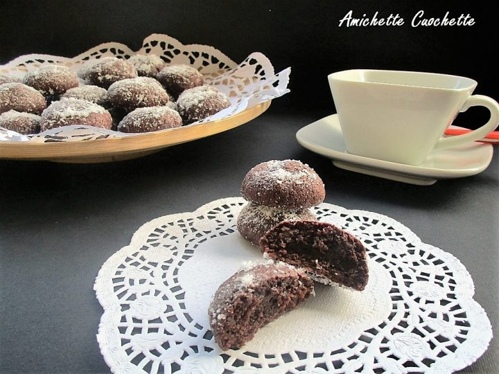 biscotti morbidi al cioccolato fondente firma