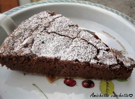 Torta ricotta e cioccolato senza farina