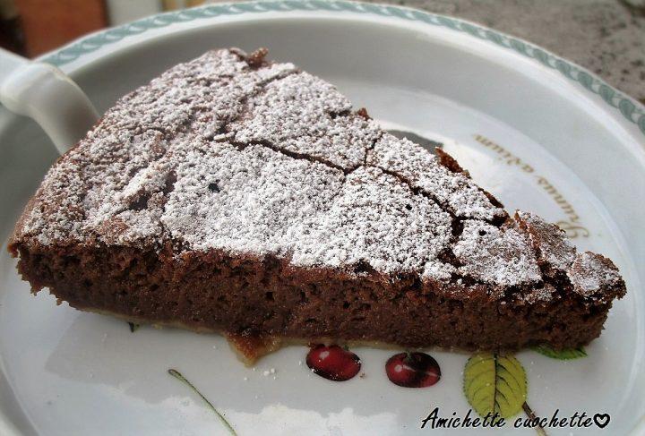 torta ricotta e cioccolato senza farina firma