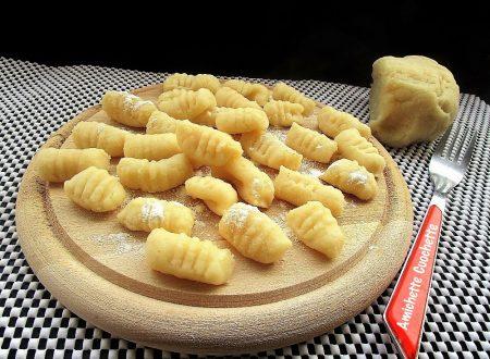 Gnocchi senza patate bimby