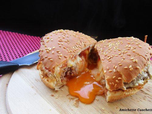 Carbonara burger