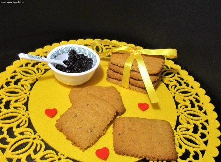 Biscotti con farina di riso e miele