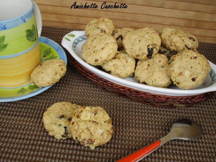 biscotti al muslei e frutta secca
