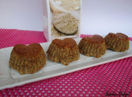 Muffin Dukan con cacao,crusca e ricotta