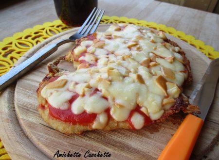 Pizza di pollo croccante