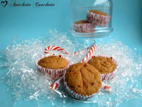 Muffin integrali alla zucca