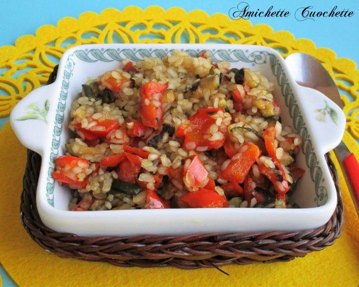 Risino di konjac con zucchine e peperoni for Cucinare konjac