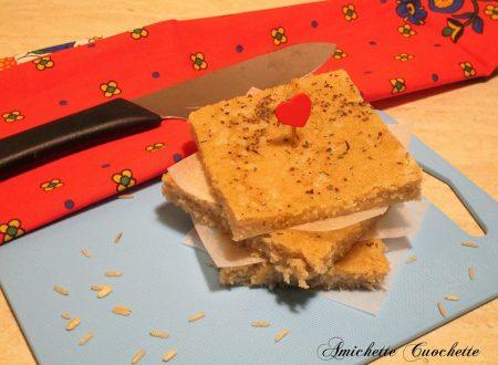 Focaccia integrale senza glutine bimby
