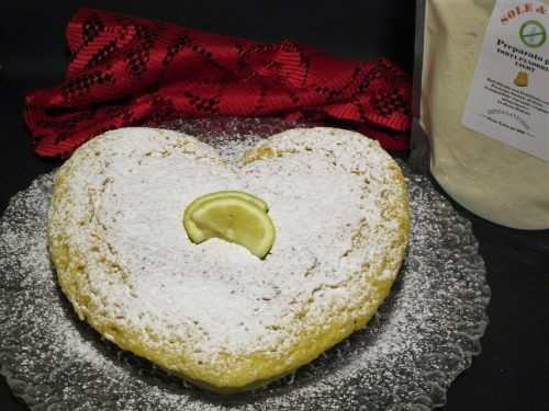 Torta limonina light