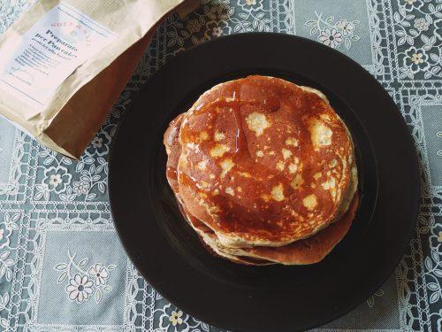 Pancake proteici di sole & sale