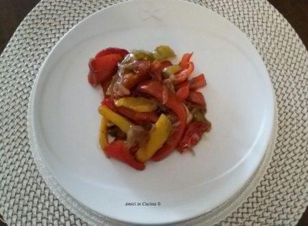 Peperoni e cipolle rosse in agrodolce – Antonella C.