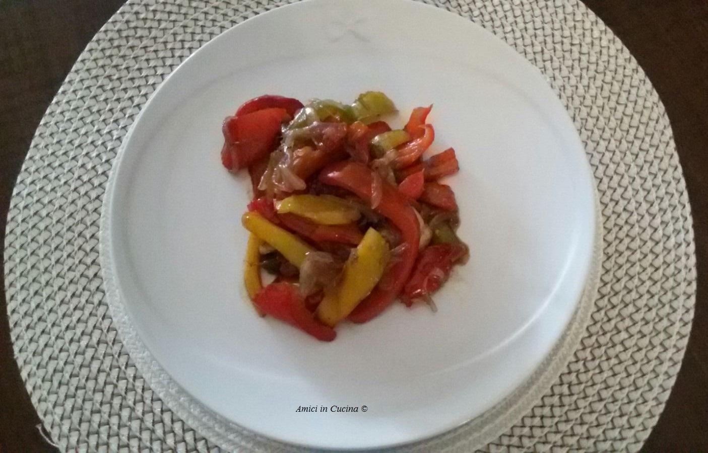 Peperoni e cipolle rosse in agrodolce – Inviataci da Antonella