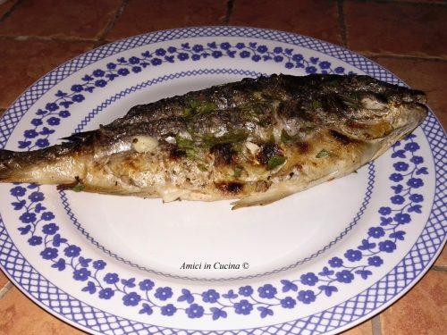 Il pesce alla griglia