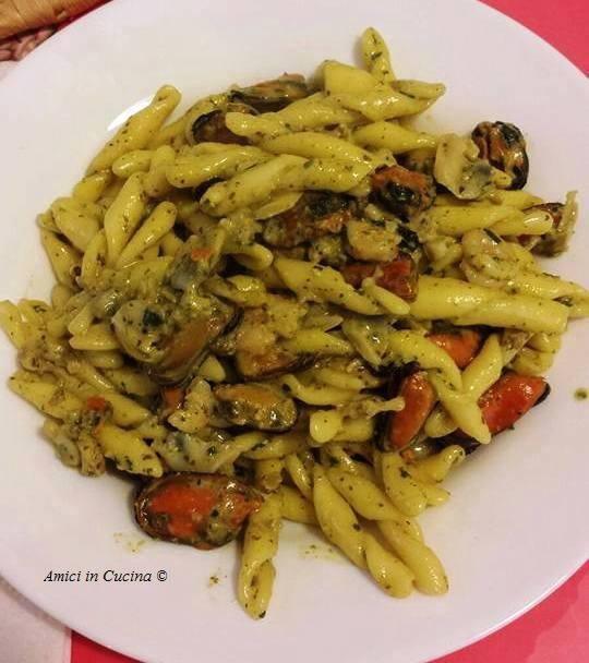 Strozzapreti con molluschi e crostacei - Patrizia