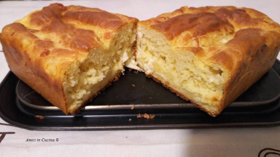Plumcake ai 4 formaggi – Sabrina