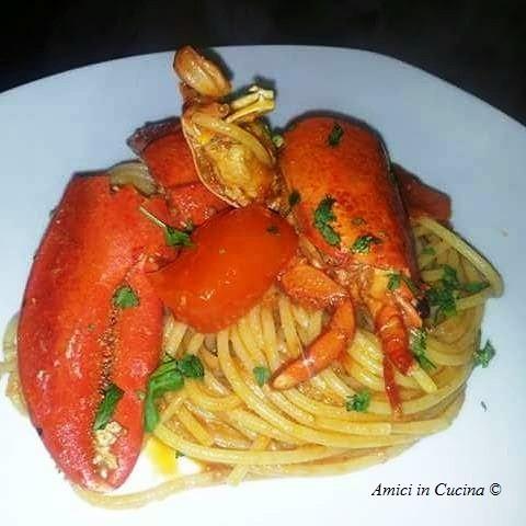 Spaghetti con astice – Pasquale