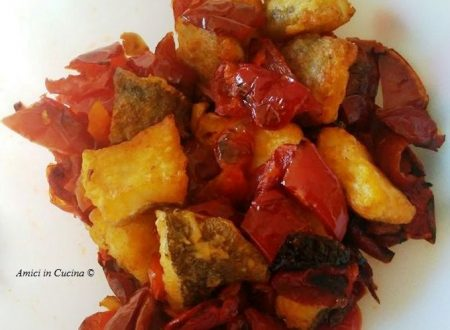 Baccalà croccante con peperoni all'aceto – Maria Assunta
