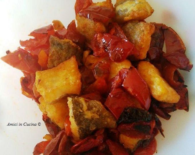 Baccalà croccante con peperoni all'aceto - Maria Assunta