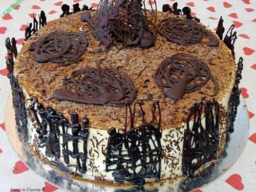 Torta al mascarpone e gocce di cioccolato – Carmen G.