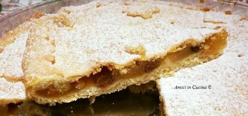 Torta di mele con marmellata di pesche - Ivana