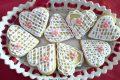 Biscotti di pasta frolla decorati con ghiaccia reale - Anna