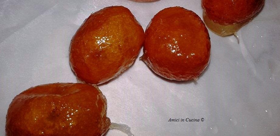 Mandarini cinesi caramellati – Anna P.