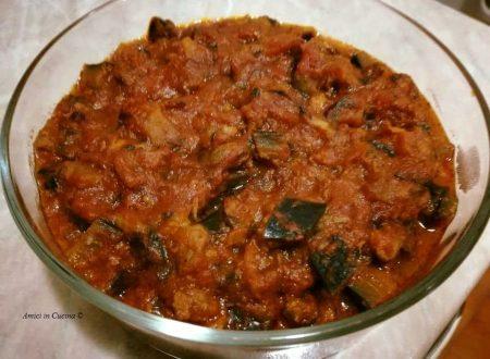 Sughetto di melanzane e pesce sugarello – Ivana R.