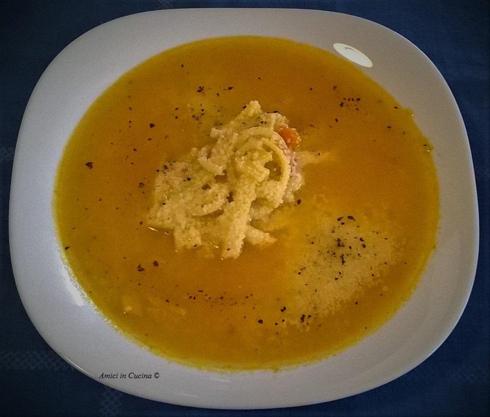 Vellutata vegetale con tagliatelle spezzate – Salvatore Gianni B.