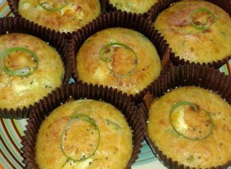 Muffin Feta ed Erba cipollina – Christine C.