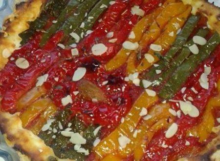 Crostata ai peperoni, pomodoro e ricotta – Christine C.