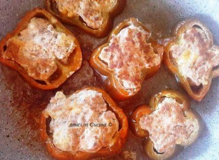 Peperoni ripieni di carne in padella – Vanessa C.