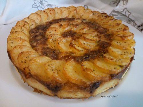 Sformato di patate e piselli freschi – Tessa G.