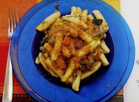 Gnoccoli cavati o gnocculi con salsiccia, zucchine e carote – Patrizia P.