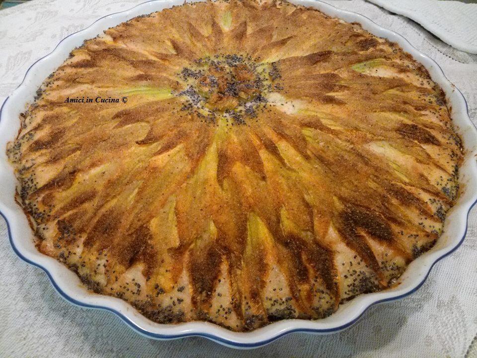 Gateau Di Patate Con Fiori Di Zucca Tessa G Amici In Cucina