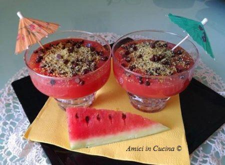 Gelo di melone (anguria) con e senza Bimby – Rita Zanca