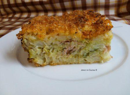 Sformato di patate e verza – Tessa G.