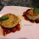 Flan di zucchine con pomodorini confit – Gilda C