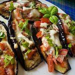 Melanzane con pomodoro e mozzarella cotte in padella – Ignazia  D.